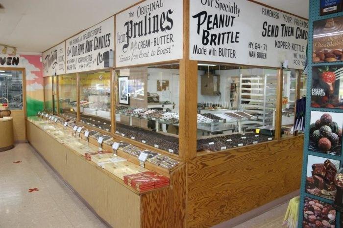 Kopper Kettle Candies Van Buren Arkansas
