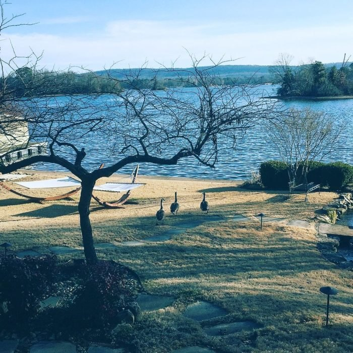 Lookout Point Lakeside Inn Lake Hamilton Winter Arkansas