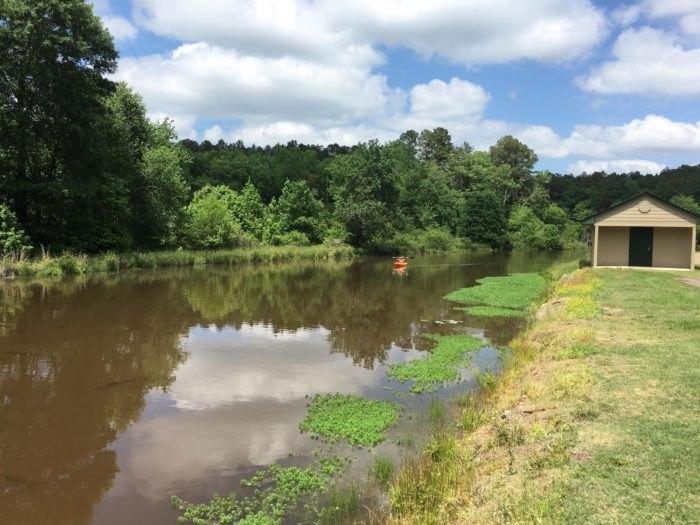 White Oak Lake Park Kayak Arkansas