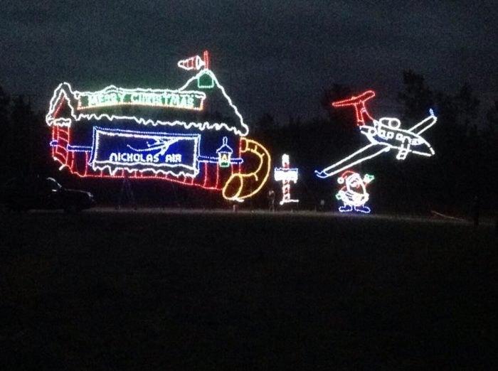 Lights of the Delta Light Display Arkansas