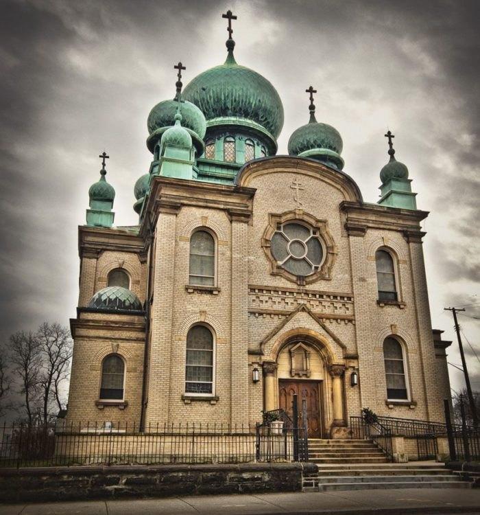 St. Theodosius Othodox Church Exterior Ohio