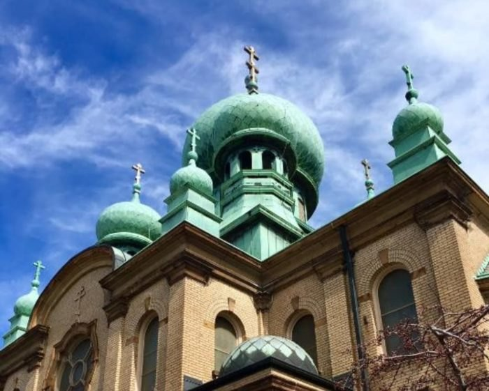 St. Theodosius Othodox Church Domes Ohio