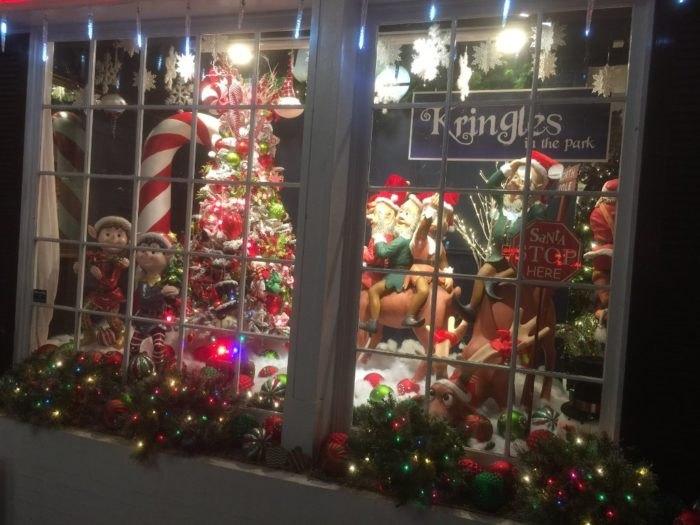 Kringles in the Park Store Window Arkansas