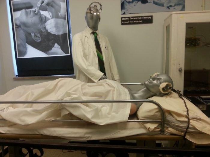 Glore Psychiatric Museum Procedure Room Missouri