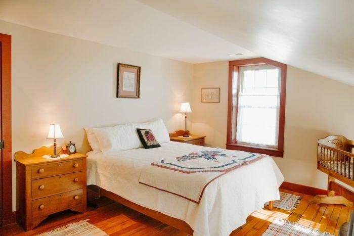 Airbnb Nauvoo Illinois Master Bedroom