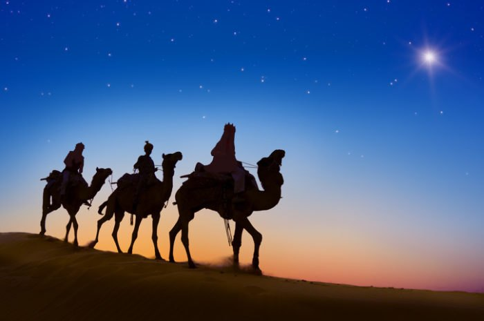 Three Wise Men and the Christmas Star