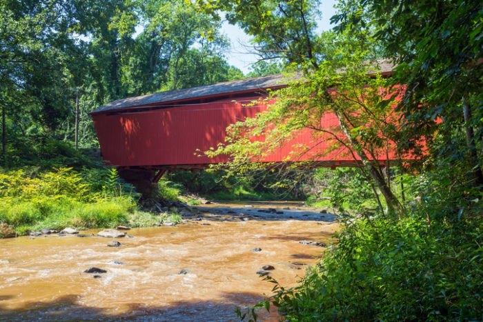 Jericho Covered Bridge Maryland