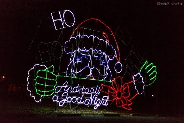 Effingham Illinois Santa Lights