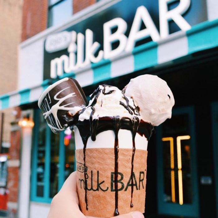 JoJo's Shake Bar Hot Chocolate Illinois