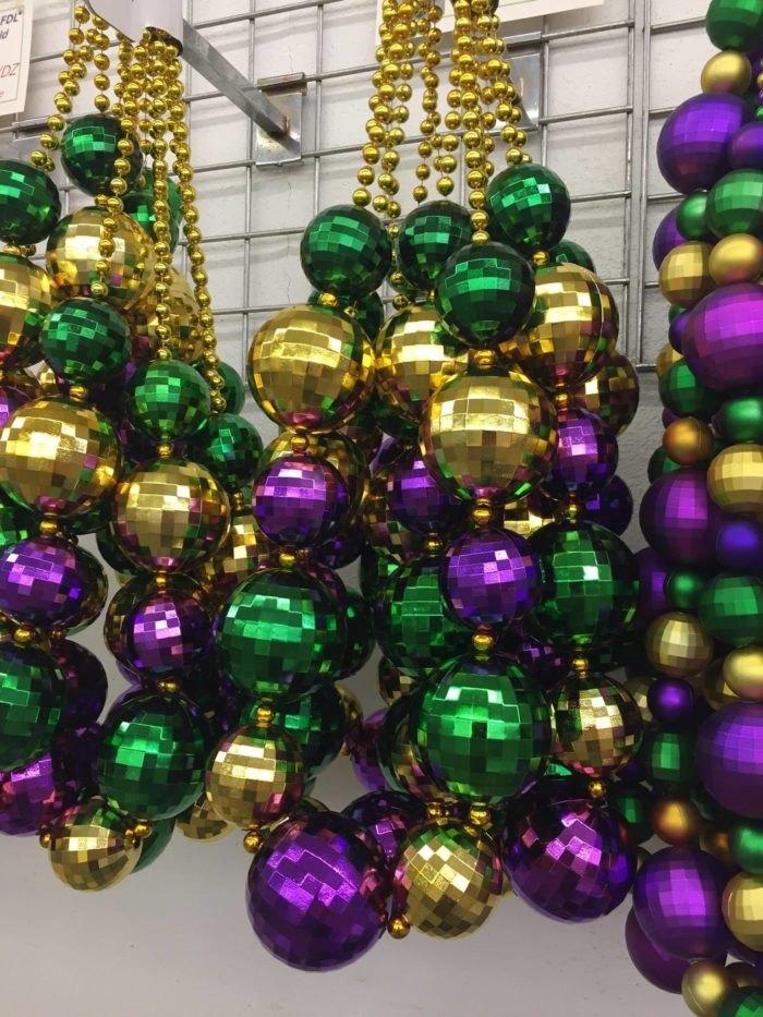 Mardi Gras Beads Factory Purple Green And Gold Beads Louisiana