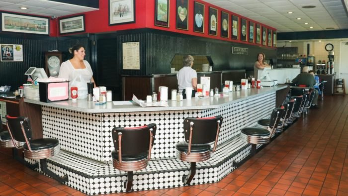 Kathy's Restaurant Interior Virginia