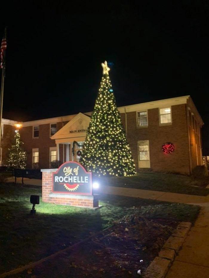 Rochelle Illinois Christmas