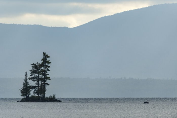 view of Moosehead Lake from Lily Bay State Park, Maine