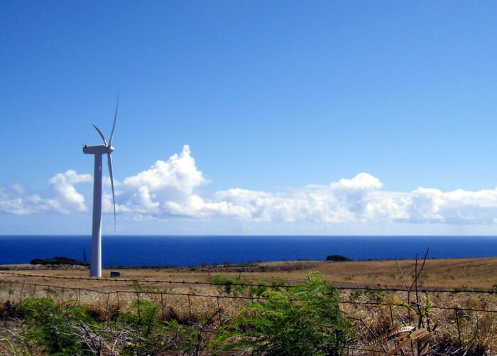 windfarm in Hawi, Hawaii