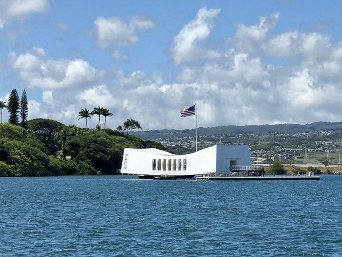 Pearl Harbor on the Leeward Coast in Hawaii
