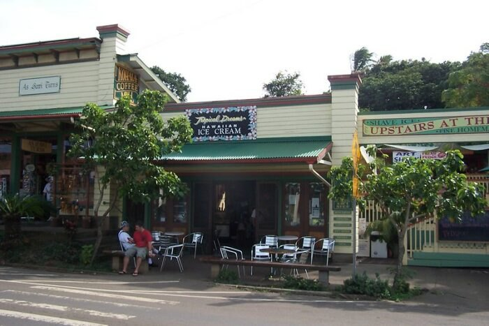 restaurant in Hawi, Hawaii