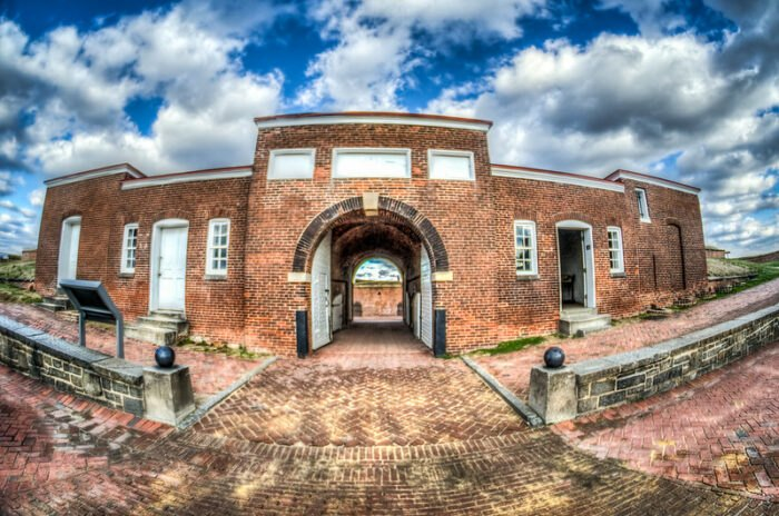 Fort McHenry in Baltimore, MD