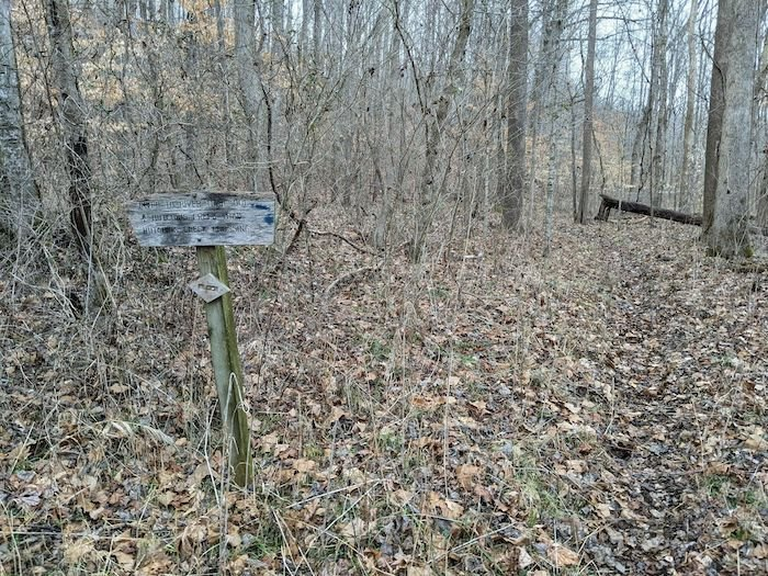 part of the Godwin Trail in Illinois