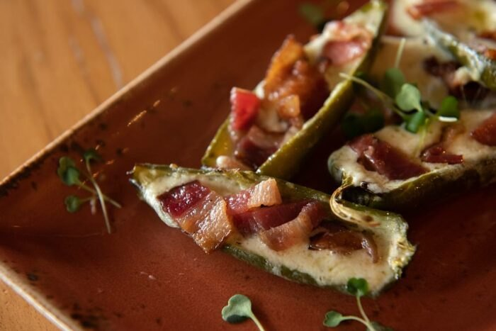 jalapeno poppers at Harvest Moon Craft Kitchen