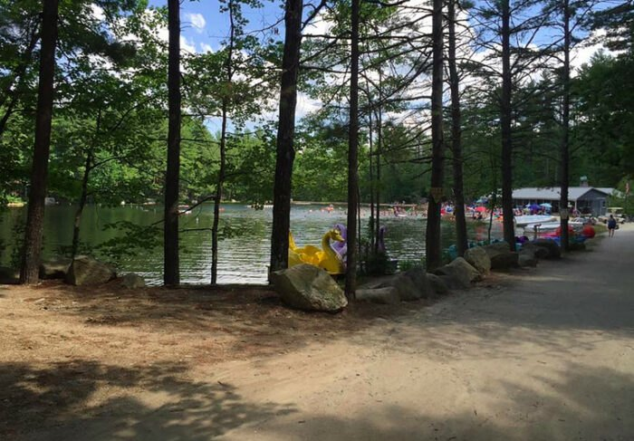 The Massive Family Campground In Maine That's The Size Of A Small Town