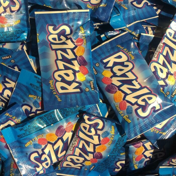 Razzles at Bricktown Candy Co in Oklahoma