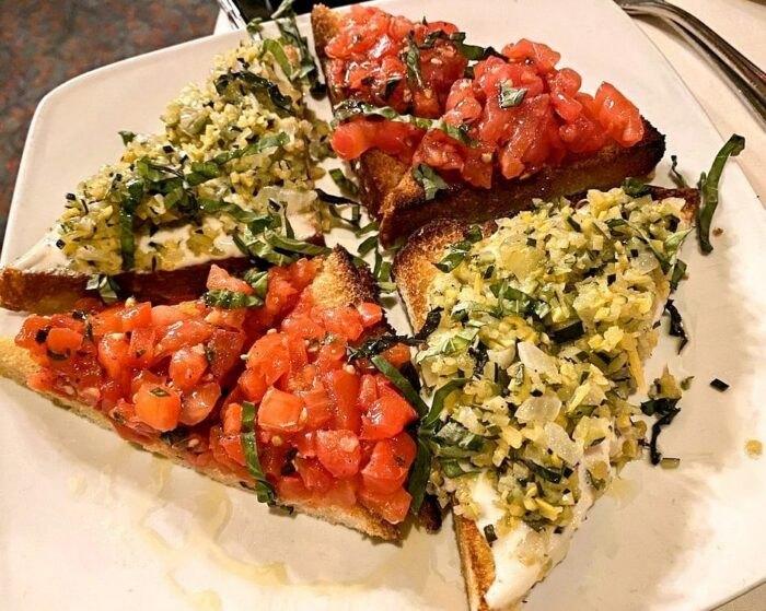 food at Tuscany Restaurant in Utah