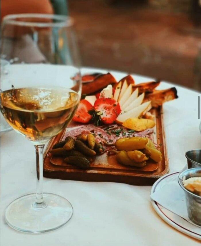 wine at Tuscany Restaurant in Utah