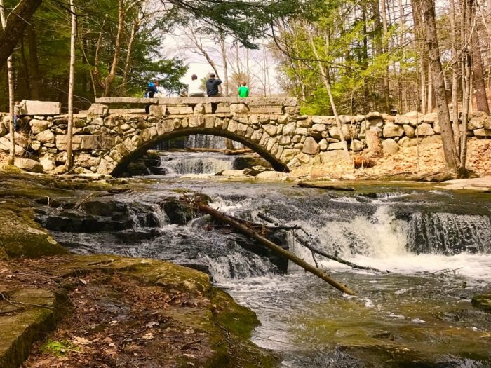 There's Nothing Quite As Magical As The Stone Arch Bridge You'll Find At Vaughan Woods In Maine