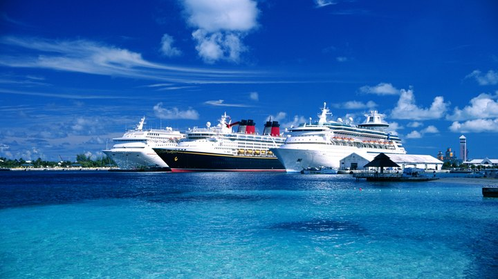 Skip the flight to Miami or Ft. Lauderdale to board a cruise ship to the Bahamas. The port of New York has cruises to the Bahamas that give you a choice of ships and seasons. These trips leave from Manhattan's cruise ship dock. Along with the option of leaving from New York, selecting one of these cruises provides a leisurely vacation with time at sea, Bahamas' itineraries that include shore excursions and even a private island reserved for the cruise line's passengers.