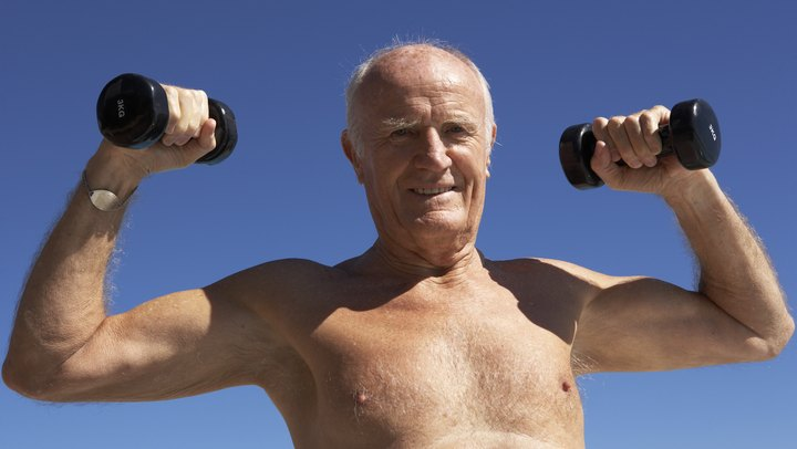 "As you age, you gradually lose muscle mass. An analysis of survey data published in the ""Journal of the American Geriatric Society"" indicates that 45 percent of male participants age 60 and older showed signs of moderate sarcopenia, or loss of muscle mass. The good news is that lifestyle changes can help increase your muscle mass and strength, improving the quality of your life -- and allowing you to keep doing the things you enjoy as you get older."