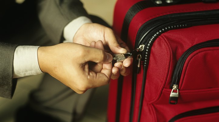 We lock our luggage like we lock our cars -- to protect our valuables. But flying in the United States means Transportation Security Administration agents can open and search your luggage at any time and out of your sight; if it's locked and they can't open it, your lock and/or your luggage can end up broken.