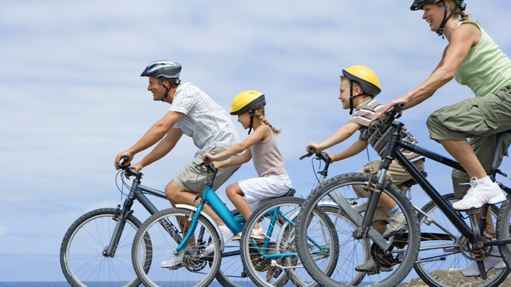 Fitness enthusiasts and novices alike appreciate bike riding for its fun and fast exercise benefits. Regular cyclists gain both speed and strength because biking requires both muscular and cardiovascular endurance. In general, cycling utilizes primarily the lower body muscles, but the core and arm muscles are also used.