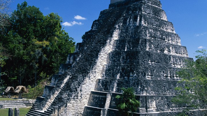 The ancient Mayan civilization left its mark on Guatemala, Mexico's southern neighbor, as did later Spanish colonialism. The land itself is a lush mixture of rain forest and mountain highlands, with striking vistas everywhere you turn and even an active volcano or two. The must-see landmarks of Guatemala encompass all of its aspects, from natural beauty with a touch of danger to indigenous relics and indelible colonial footprints.