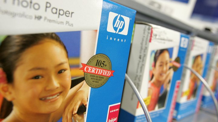 HP offers two methods to replace the installation software for your HP printer in case you lose the copy you have. HP's support site can help you identify your printer model and either order a replacement installation CD-ROM or download the software found on the installation disc to your computer. The download option is free, but the replacement disc option has a fee attached to it.