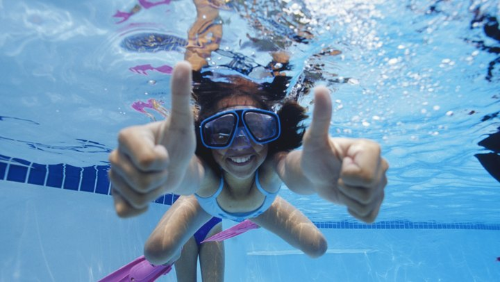 When hot weather hits, exercise can be a major drag, but bringing your routine to a swimming pool will keep you cool while you keep up fitness regimen. If swimming laps isn't your idea of a worthwhile workout, pool games might be just the thing to keep you interested and active. No need to assemble a team of pool-goers. A range of interactive pool games for all ages require just one other player for a rousing bout of water-based challenges.