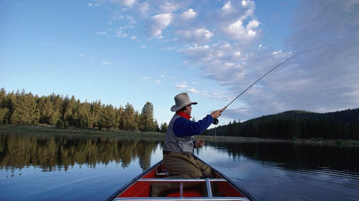 California's reputation for excellent fishing is no secret. The Golden State is particularly well-known for bass fishing; the state record largemouth bass weighed in at 21 pounds, 12 ounces, less than half a pound shy of the world record. Outside of bass, trout and a variety of other game fish are plentiful in California's waters. From deep, clear reservoirs to trickling mountain streams, California offers endless possibilities for fishermen.