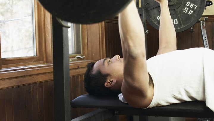 What Are the Benefits of a Wider Grip for a Bench Press?. The wide-grip bench press, a variation of the staple bodybuilding exercise, seems to have an equal amount of proponents and detractors. In theory, varying your grip width heightens muscular hypertrophy and increases strength, but some health professionals say that the risks outweigh the benefits. In any case – overshadowed by risk or not – the benefits are there; these benefits, however, should be sought only by experienced lifters who are completely comfortable with the standard grip bench press.