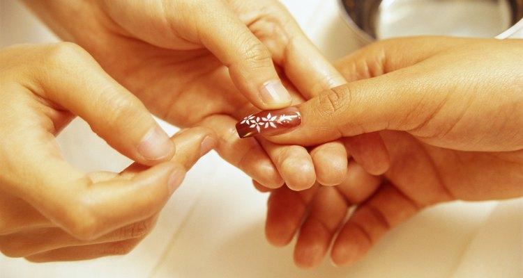Nail beads transform a manicure.