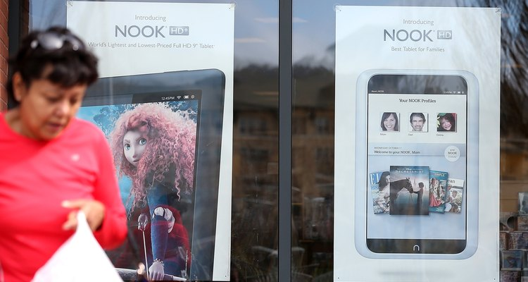 You have two options when buying a Nook HD or Nook HD+.