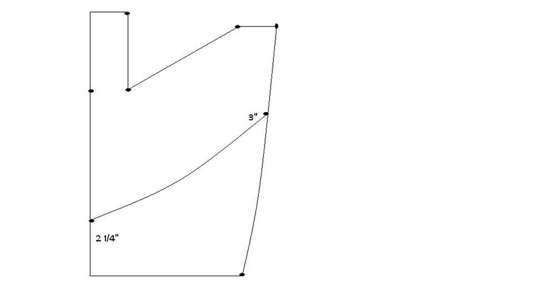 Crease along the curve, don't cut.