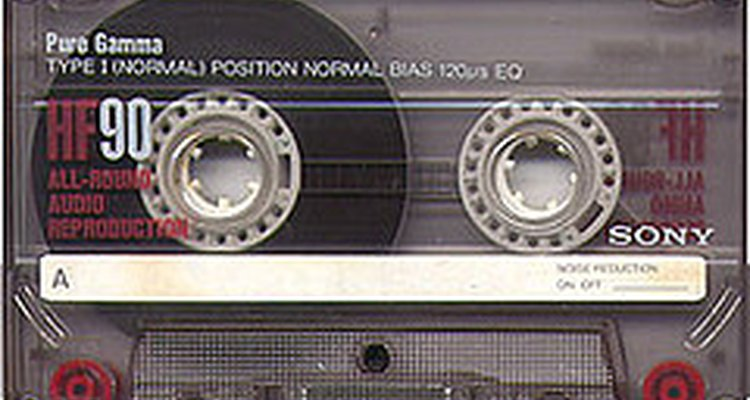 A standard cassette tape can be converted to play at different speeds.