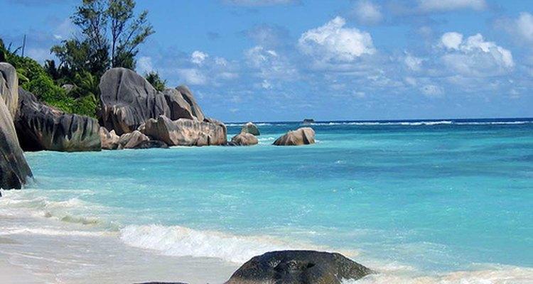 Playas de Seychelles.