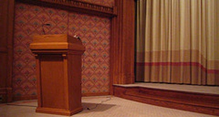 Preparação é muito importante na hora de fazer um discurso