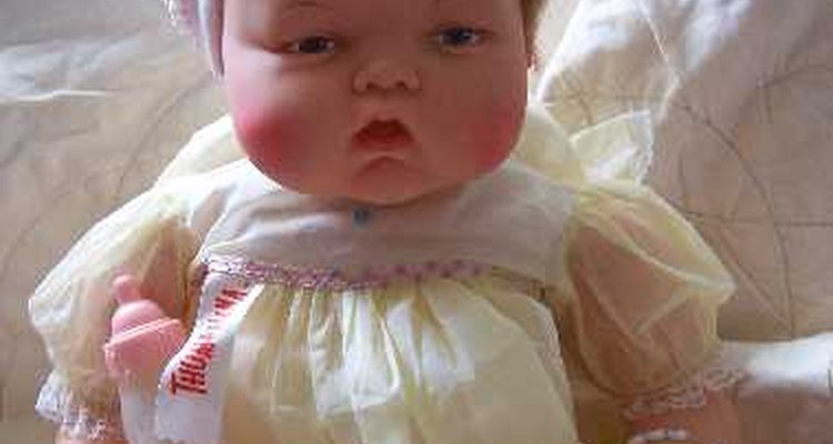 1960s 21-inch Thumbelina Doll by Ideal