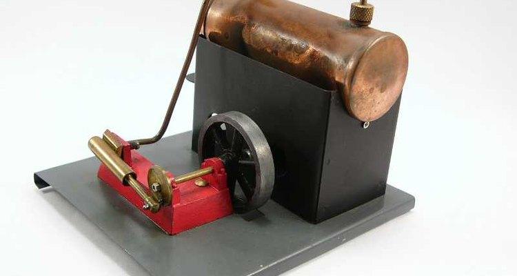 A máquina a vapor revolucionou o sistema de produção