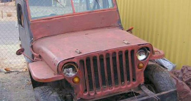 1941 Jeep with vacuum windshield wipers