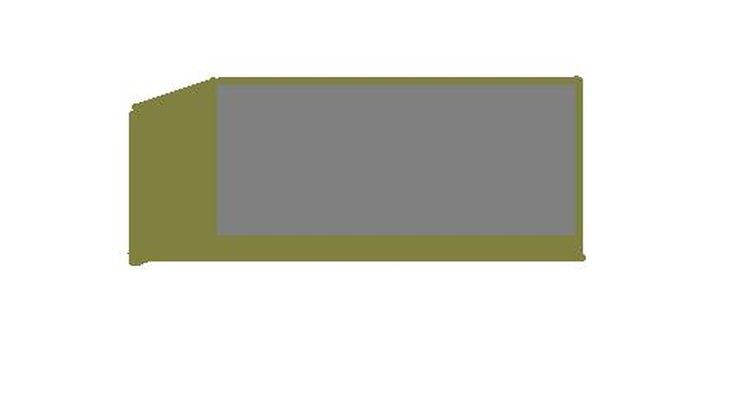 Diseño de un banco de hormigón hecho con MS Paint.