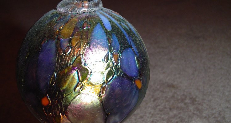 Stained Glass Witch Ball (Mourguefile)