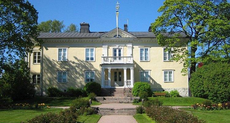 Herttoniemi Manor in Helsinki.