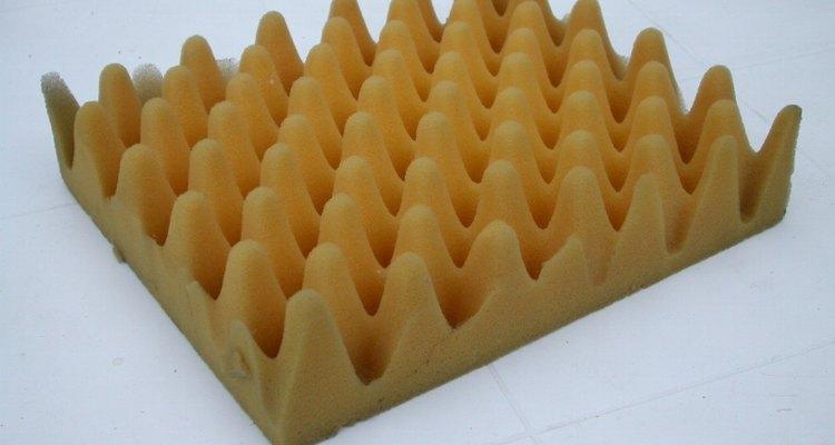 Egg carton foam